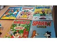 Comic books Sparky, Krazy and more
