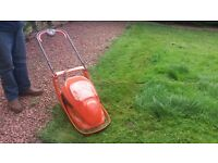 As new hover mower