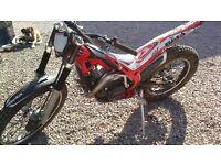 Beta Evo 250cc 2013 model trials bike