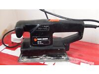 Black and Decker electric sheet sander