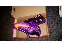 Jr mercurial vapor xi fg nike brand new boxed football boots size 5