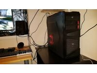 LIGHT CUSTOM QUAD CORE GAMING COMPUTER PC