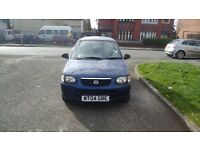 Suzuki Alto, low mileage 77079, £30 Road Tax