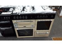 New graded leisure range cooker 110cm duel fuel for sale in Coventry 12 month warranty