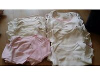 Bundle of baby girl clothes age 3-6 months