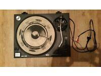 Technics SL1210 Mk2 Pair and flight cases
