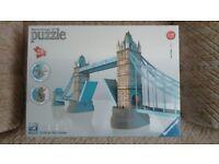 3D Tower Bridge London Jigsaw