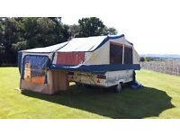 CONWAY CRUISER 6 BERTH FOLDING CAMPER 1997