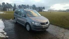 2008 volswagen touran 1.9 tdi family 7-seater great runner reliable and tidy car bargain price