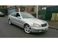 MERCEDES S320, VERY GOOD CONDITION, RUNS ON LPG GAS BI-FUEL ALLOYS GOOD TYRES