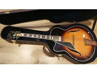 Left- handed Peerless Monarch Archtop Guitar