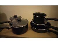 Sauce pans & frying pan 5 piece set