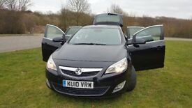 Vauxhall Astra 2010 Elite 1.6 petrol .low milage 50k ,automatic gearbox