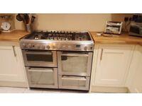 Hotpoint EG1000GX 100cm Range Cooker in stainless steel for sale!!