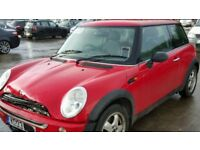 SWOP SWOP MY MINI 2003 STARTS DRIVES SELLING AS SPARES AS SMALL BUMP TO FRONT NO MOT DECENT CAR PX