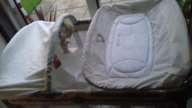 graco travel cot for sale