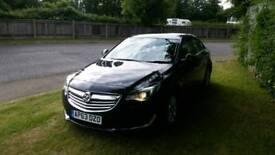 New shape 2014 63 reg Vauxhall Insignia design nav ecoflex 2.0 diesel 140bhp 6 speed