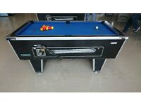 6ft x 3ft Pool Table - Coin Operated. Solid Slate. (Have 2 for sale)
