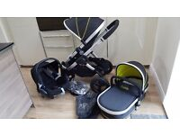 iCandy Peach All-Terrain Pram & Travel System 2016