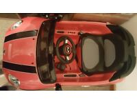 Mini cooper toddler car with remote