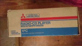 Mitsubishi car stereo & multi cd changer BRAND NEW & BOXED