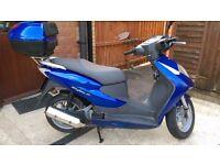 Honda Dylan SES 125cc for sale, late 2006, 8871 miles, MOT til 21-5-17, 2 keys, top box, £1000 ONO