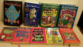 Boundle of Ten Jacqueline Wilson story book