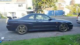 Skyline r34 gtt manual