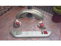 eriba rear lights & wheel arches