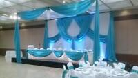 Decor packages Tablecloths,Table Runners chair covers plus,