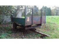 Tractor 3 ton Tipping Trailer*