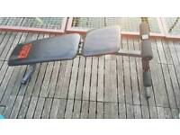 Gym sit up weights lower chest abs bench