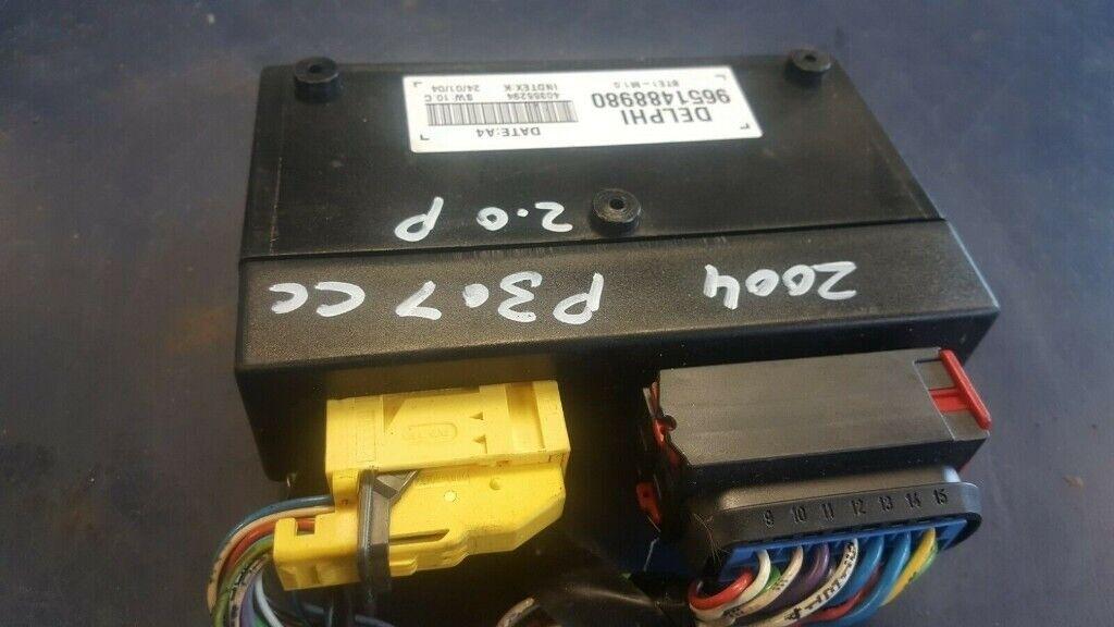 PEUGEOT 307CC ROOF ECU DELPHI 9651488980
