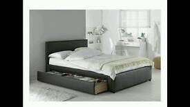 Hygena sandyford King size bed frame