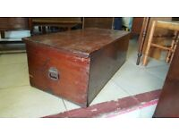 Antique Blanket Chest / Coffee Table / Toy Box