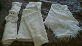 as new baby blankets lot