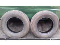 2 x 145 70 12 tyres