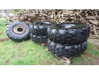 5 Michelin xl 16.00 R20 Tyres Unimog/Fastrac Tyres?