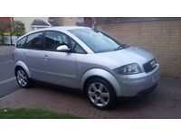 AUDI A2 DIESEL for sale cheap insurance ROAD TAX ONLY £30 per year