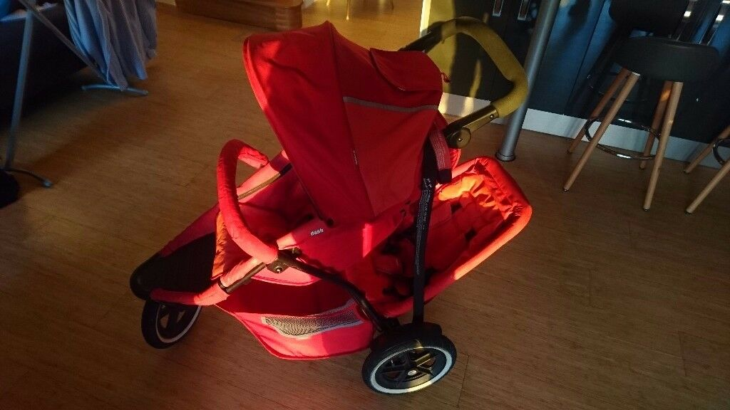 Double Buggy - Phil and Ted (red)