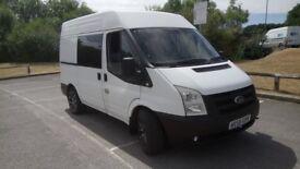 reduced price ford transit campervan registered as motor caravan