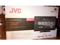 """-BRAND NEW- JVC 32"""" LED smart HD TV"""