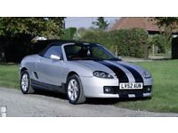 MG TF 1.8 135 2002 with Rare Grenadine Red Interior, Extras, 1yr MOT & Loads of History