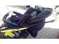 Chicco Liteway Pushchair / Stroller Navy Blue