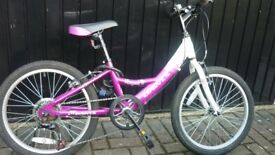 Dawes Venus Girls Bike suit ages 6-9 yrs 20 inch wheels 11 inch frame VGC perfect for Christmas Xmas