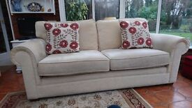 Marks and Spencers three seater sofa.