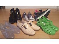Ladies/Girls size 5&6 shoe/trainers. A selection of Heelys, Kickers, Converse, Office etc