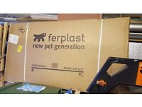 Ferplast 140 Small Animal Cage for Rabbits, Guinea Pigs