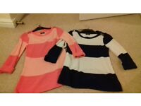 Two light weight jumpers ideal for Spring!