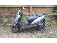 Kymco agility 50 not currently running